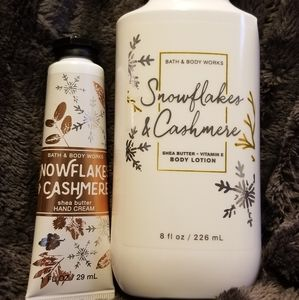 Snowflake and cashmere